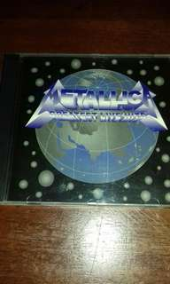 Metallica Greatest Live Hits rare Limited Edition 1993 CD Metal , Rock