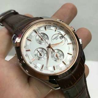TISSOT LEATHER WATCH