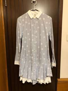 Steve J & Yoni P SJYP shirt dress 女裝恤衫 連身裙