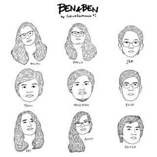Ben&Ben Fanart Sticker Pack