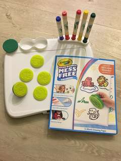 Crayons Color Wonder Mess Free Coloring