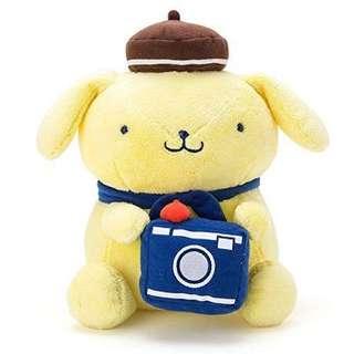 Pompompurin with camera (Sanrio Japan)
