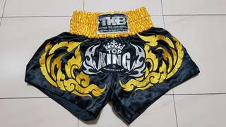 Authentic Top King Muay Thai Shorts