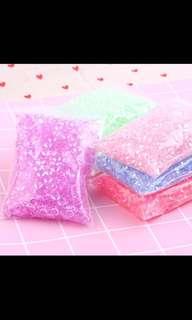 Fishbowl beads for slime
