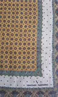 💖💖💖Vincenzo Valentino Cotton Handkerchief