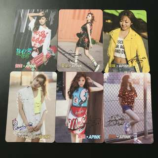A32*Apink Yescard YES卡簽名咭SET