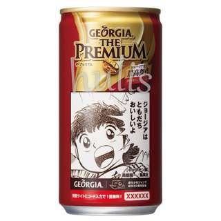 【代購】買四送一 JUMP週刊少年50周年 足球小將 聖鬥士星矢 角色 GEORGIA 罐裝咖啡