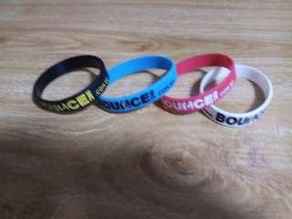 BOUNCE Singapore wristband