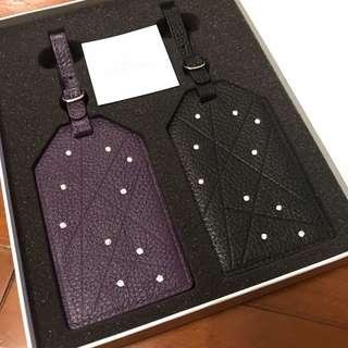 【送禮佳品】Swarovski Luggage Tag Set of 2 水晶 行李牌