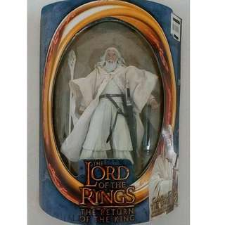 Lord of the Rings Gandalf the White (Back-in-box, with COMPLETE accesories)