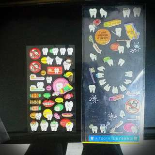 Tooth Sticker 牙貼紙