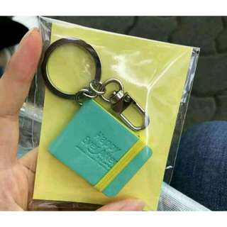 READY STOCK BTS 4TH MUSTER MERCHANDISE MINI BOOK KEYRING