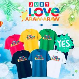NEW!! JUST LOVE TSHIRT UNISEX (PREORDER, AMERICAN SIZES)
