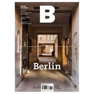 BRAND Documentary Independent B Magazine - Berlin Travel Wine and Dine Guide