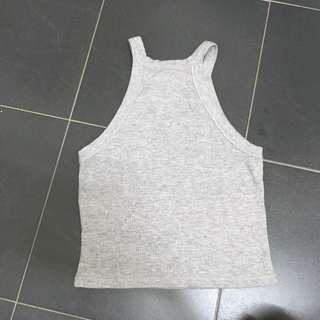 Halter Top (grey)