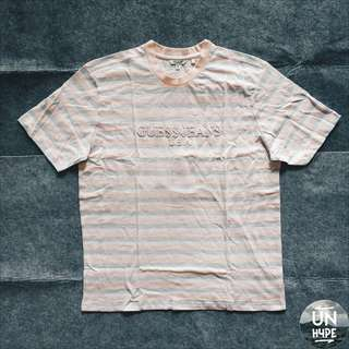 [GUESS X A$AP] 'Ice Cream & Cotton Candy' Pink/Blue Striped Tee