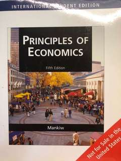 Principles of Economics Fifth Edition Mankiw