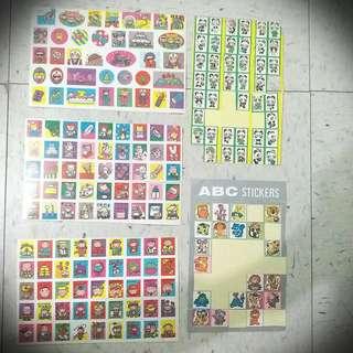 動物醫院受傷人物 警察 熊貓 Police Hospital Animal Panda Sticker