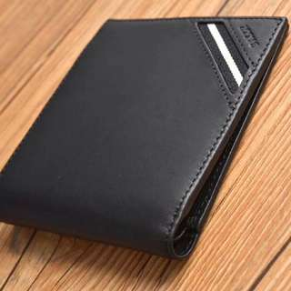 Bally Men's Wallet Black