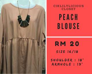 Plus Size Blouse - Prelove