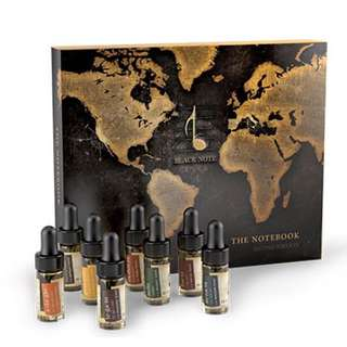 Blacknote electronic cigarette vape juice collection - the notebook