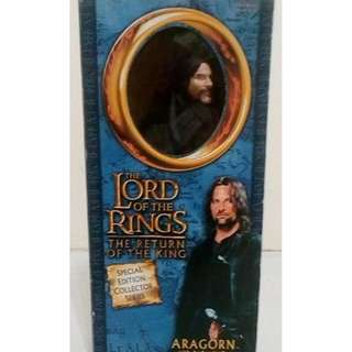 Lord of the Rings Aragorn DELUXE 12 inches Figure (Back-in-box, with COMPLETE Accessories)