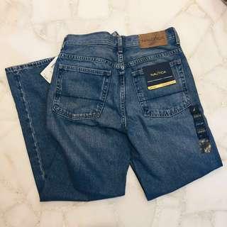 [BRAND NEW] Nautica Straight-Cut Jeans