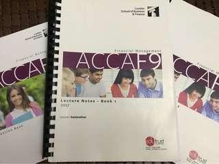LSBF ACCA F9 full set