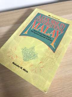 Learn Conversational Malay Book
