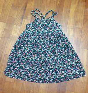 GAP floral dress for 3 years old
