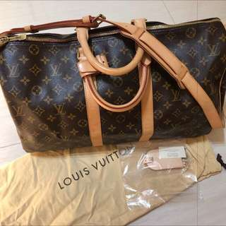 LV Louis Vuitton Travel Bag 45cm 旅行袋 (98% New)
