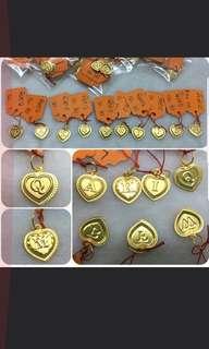 Offer!! 916 Gold Letter or Alphabet Pendant