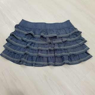 Denim Skirt - Low Waist