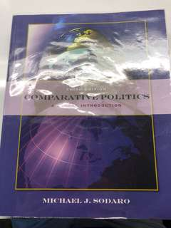 Comparative Politics A Global Introduction Third Edition