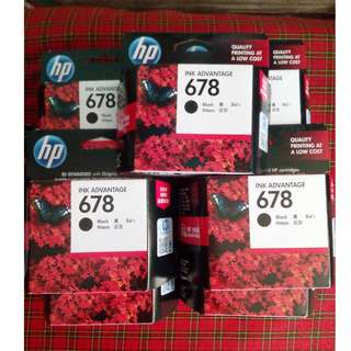 HP 678 Black Original