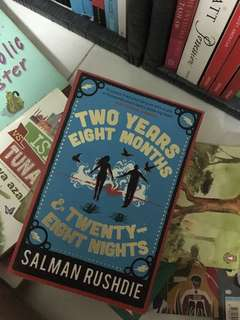 Salman Rushie's Two Years, Eight Months