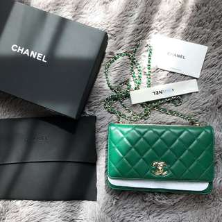 Brand new FULL BOX CHANEL WOC