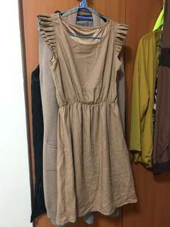 One piece Beige