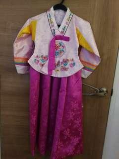 Authentic Korean Hanbok size 7