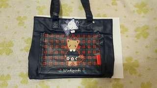 絕版Winkipinki袋  96年版  size: 比A4略細