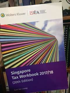 Tax Workbook 20th Edition