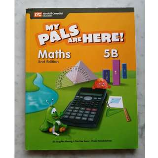 Primary 5 textbook - My pals are here! Maths 5B 2nd edition