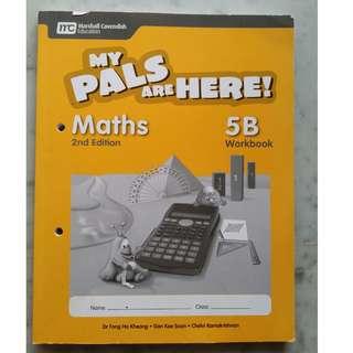Primary 5 workbook - My pals are here! Maths 5B workbook 2nd edition