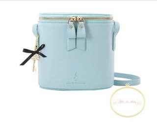 台灣直送✈️ 愛麗絲圓桶袋(藍)