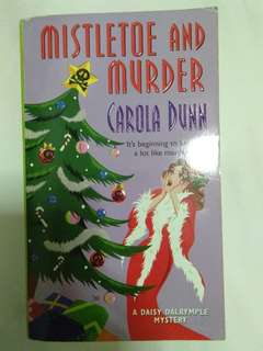 Mistletoe and murder by Carola Dunn