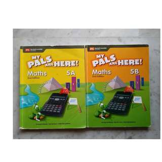 Primary 5 textbook - My pals are here! Maths 5A & 5B 2nd edition