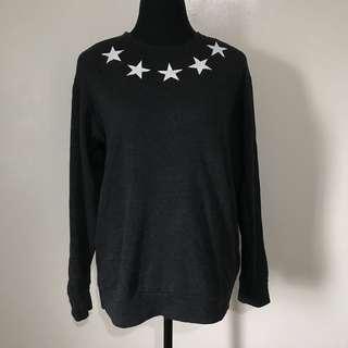 Star Pullover/Sweatshirt Dark Gray