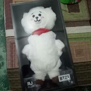 BT21 Standing Doll - RJ (unboxing)