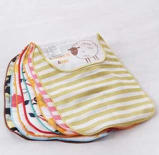日版 五層棉紗汗巾