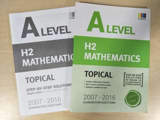 BN A Level H2 Maths TYS Topical (with worked solutions)